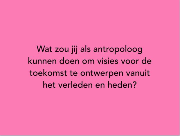 vraag antropologen